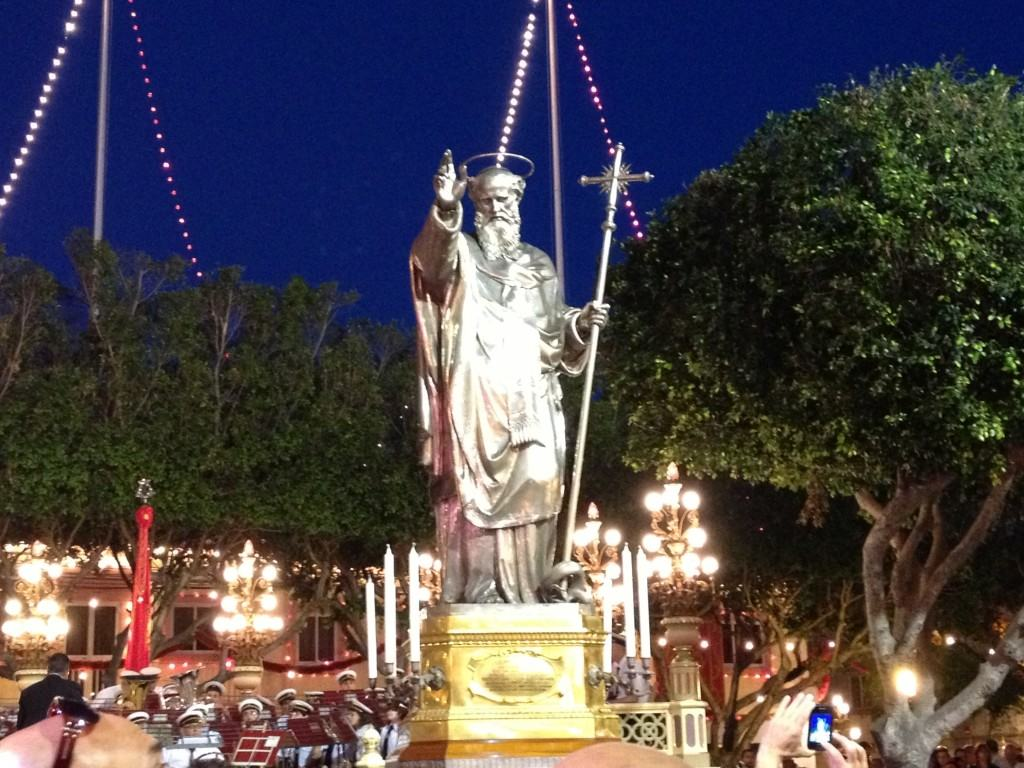 Traditional Maltese Statue
