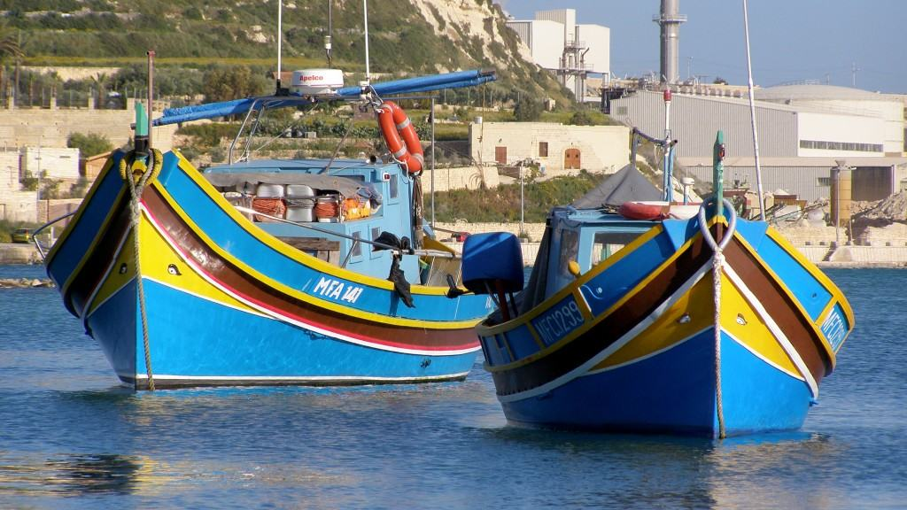 Maltese Traditional Boat