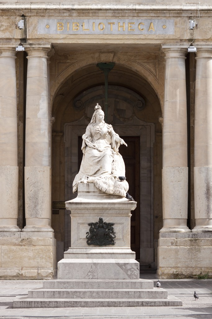 Statue of Queen Victoria Valletta