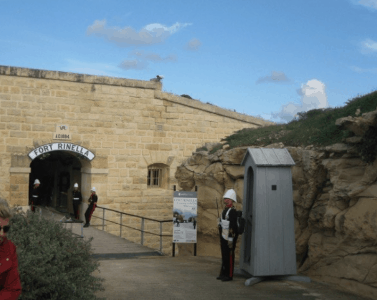 Fort Rinella Entrance