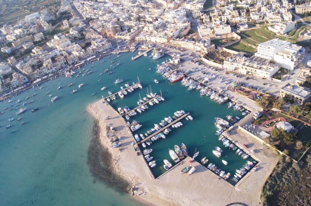 Aerial Views of Malta