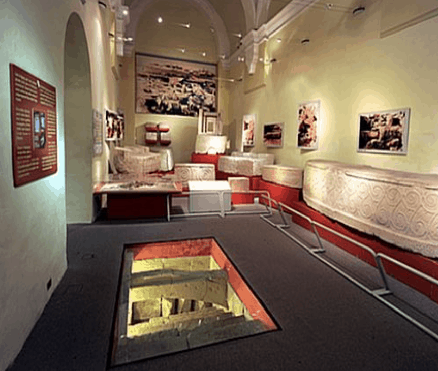 Museum of Arcehology interior