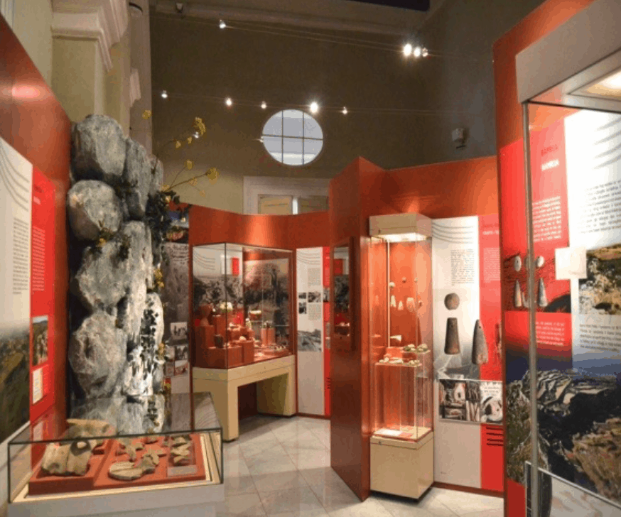 Museum of Arcehology showcases