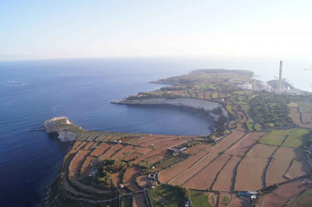 Malta Power Station Aerial View